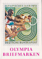 Germany Leaflet For Olympic Stamps - Ete 1972: Munich