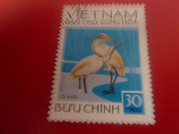 Viet-Nam - Dan Chu Cong Hoa - Buu Chinh - Bulbucus Ibis - Val 30 Xu - Multicolore - Oblitéré - - Vietnam