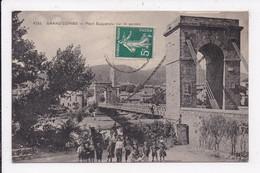 CP 30 GRAND'COMBE Pont Suspendu Sur Le Gardon - Sonstige Gemeinden