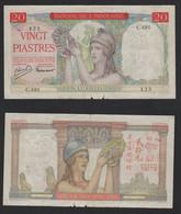 INDOCHINE FRANÇAISE Billet 20 Piastres 1936 - Other