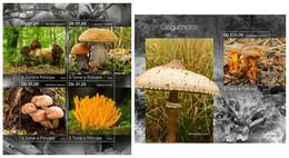 S. TOME & PRINCIPE 2019 - Mushrooms - YT 6892-5 + BF1319, CV=38 € [ST190713] - Paddestoelen