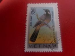 Viet-Nam - Buu Chinh - Khirou Bac Ma Garrulax Chinensis - Val 50 Xu - Brun - Oblitéré - - Vietnam