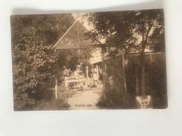 Carte Postale Ancienne Adinkerke-La Panne Moeder Lambic A.Dobbels Entrée Des Jardins - De Panne