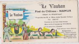 CDV 10 X 5,5 Cm Namur Le Vauban - Visiting Cards