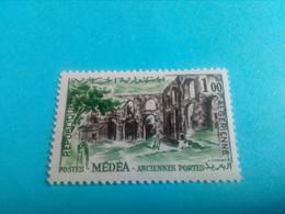 ALGERIE - ALGERIA - Timbre 1962 : Site De Médéa - Anciennes Portes De Lodi - Argelia (1962-...)
