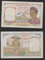 INDOCHINE FRANÇAISE Billet 1 Piastre 1953 - Other