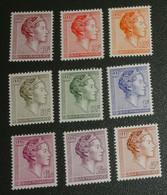 Luxemburg - 1960 / 1964- Postfris - MNH - Groothertogin Charlotte - Ongebruikt