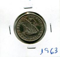 Portugal 5 Esc. (Cu/Ni), Colecção Completa 1963-1986 (24 Moedas) Em Geral MBC Ou BELAS - Other - Europe