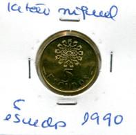 Portugal 5 Esc. (Latão/Ni), 1986/90/93/96/97/98 (6 Moedas) Em Geral MBC - Other - Europe
