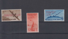 San Marino  Michel Cat.No. Mnh/** 352/354 - Unused Stamps