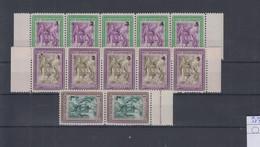 San Marino  Michel Cat.No. Mnh/** 387/389 I/V Strips - Unused Stamps
