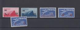 San Marino  Michel Cat.No. Mnh/** 404/408 - Unused Stamps