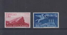 San Marino  Michel Cat.No. Mnh/** 454/455 - Unused Stamps