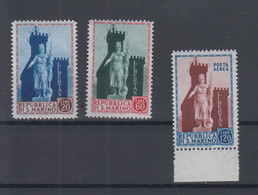 San Marino  Michel Cat.No. Mnh/** 523/526 - Unused Stamps