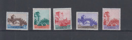 San Marino  Michel Cat.No. Mnh/** 530/534 - Unused Stamps
