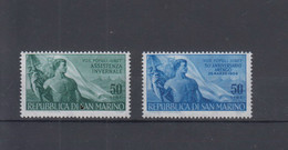 San Marino  Michel Cat.No. Mnh/** 545/546 - Unused Stamps