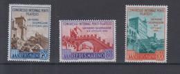 San Marino  Michel Cat.No. Mnh/** 558/560 - Unused Stamps