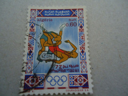 ALGERIA  USED STAMPS   OLYMPIC GAMES - Argelia (1962-...)