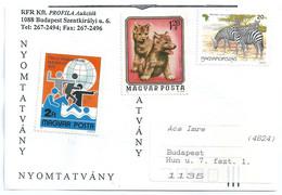 C0569 Hungary Sport Modern Pentathlon Fauna Animal Zebra Wolf - Game