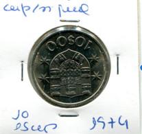 Portugal 10 Esc. (Cu/Ni), 1974 MBC - Other - Europe
