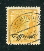 Luxemburg / 1930 / Dienstmarke Mi. 172 Gestempelt (3404) - Dienst