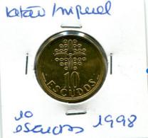 Portugal 10 Esc. (Latão/Ni), 1998 MBC - Other - Europe