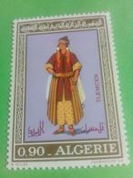 ALGERIE - ALGERIA - Timbre 1972 : Costumes Algériens -Tlemcen - Argelia (1962-...)