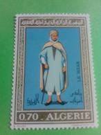 ALGERIE - ALGERIA - Timbre 1972 : Costumes Algériens - Le Mzab - Argelia (1962-...)