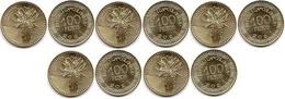 Colombia - 5 Pcs X 100 Pesos 2021 UNC Lemberg-Zp - Colombia