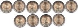 Colombia - 5 Pcs X 500 Pesos 2021 UNC Lemberg-Zp - Colombia
