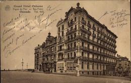 CPA Ostende Westflandern, Grand Hotel Osborne, Digue De Mer - Autres