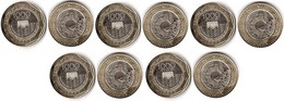 Colombia - 5 Pcs X 1000 Pesos 2020 UNC Lemberg-Zp - Colombia