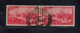 Italia (1948) - Centenario Del Risorgimento, 20 Lire Coppia (o) - 1946-60: Gebraucht