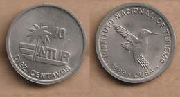 Cuba 10 Centavos (INTUR) 1989 - Cuba