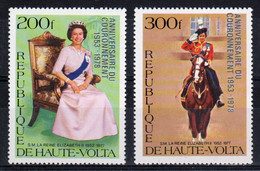 Upper Volta 1978 Set Of Stamps Issued To Celebrate The 25th Anniversary Of The Coronation In Unmounted Mint. - Haute-Volta (1958-1984)