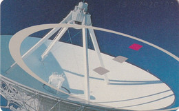 GERMANY(chip) - Satellite Dish(A 08), CN : 1301, Tirage %45000, 01/93, Used - Spazio