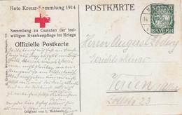 AD Bayern Postkarte 1914 Privat - Bavière