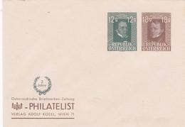 Österreich Privat Brief 1952 - 1945-60 Cartas
