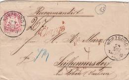 Bayern R Brief 1870 - Bavière