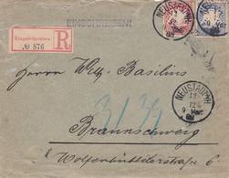 Bayern R Brief 1888 - Bavière