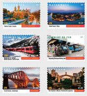 United Nations 2021 Onu Un Bridges Waterways Railways World Heritage 6v Mnh          3 AT 5 WEEK TO DELIVRERY - Ungebraucht