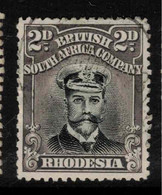 RHODESIA 1913 2d Black And Grey SG 257 U #BAD3 - Other