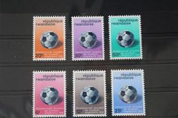 Ruanda 183-188 ** Postfrisch #VL401 - Non Classés