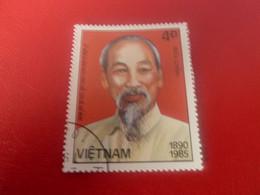 Viet-Nam - Buu-Chinh - Ky Niem Nam Ngay Sinh Chu Tich Ho Chi Ming - Val 4d+ - Multicolore - Oblitéré - Année 1985 - - Vietnam
