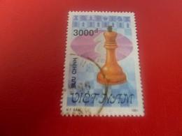 Viet-Nam - Buu-Chinh - Echecs - Val 3000 D+ - Multicolore - Oblitéré - - Vietnam