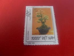 Viet-Nam - Buu-Chinh - Bonzai - L. Tuan - Val 10000 D+ - Multicolore - Oblitéré - Année 1998 - - Vietnam