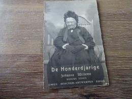 Berchem De Honderdjarige Johanna Willems 1821-1921 - Other