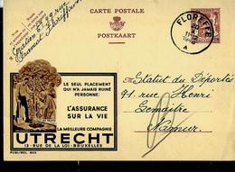 Publibel Obl. N° 803 ( Assurance ULRECHT ) Obl . FLOREFFE 20/10/1948 - Publibels