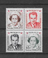 1951 MNH  Monaco, Michel 451-4 Postfris** - Unused Stamps