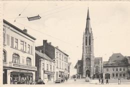 Marchienne-au-Pont Place Albert 1r Et L'Eglise. Scan - Zonder Classificatie